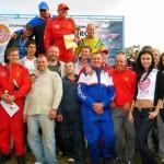 Участники гонки в Запорожье