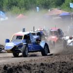 В двухдневном соревновании приняли участие сильнейшие автокроссмены Украины - Запорожье в числе призеров