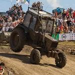 Тракторные гонки в Крыму
